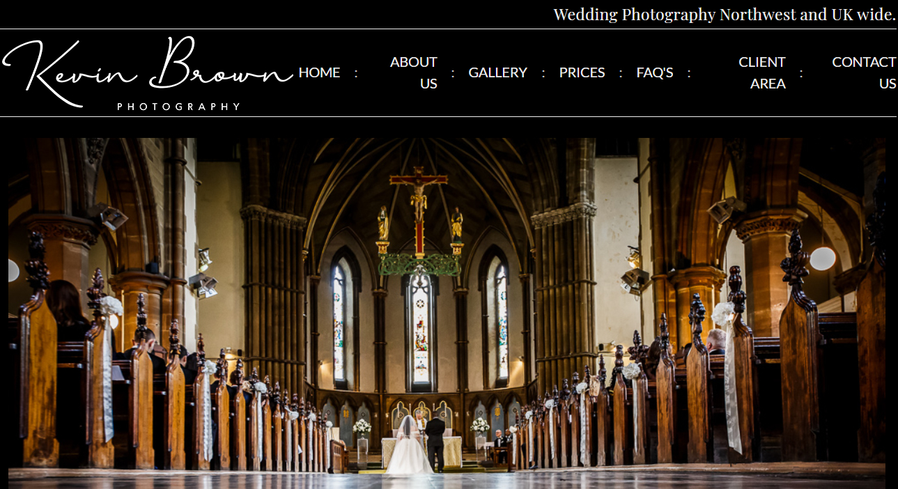Kevin Brown Photography - for weddings