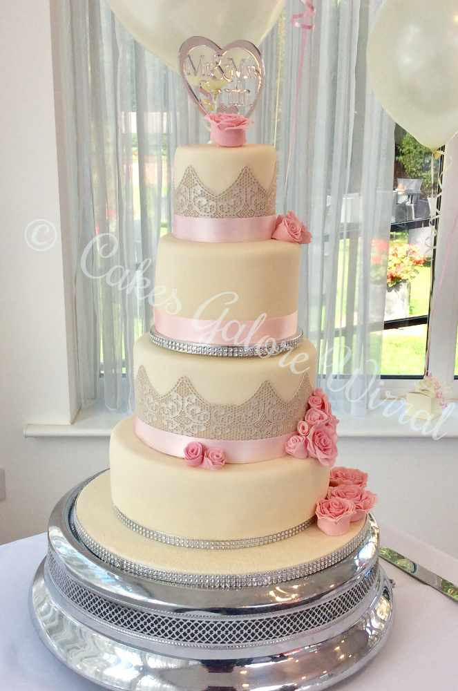 Cakes Galore Wirral - for the best tasting wedding cakes ever - click to see a few of their designs